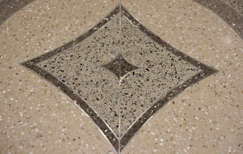 South Bay Hospital Terrazzo Flooring Design Pattern