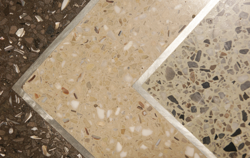 South Bay Hospital Terrazzo Flooring Details