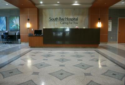 South Bay Hospital Epoxy Terrazzo Flooring Installation