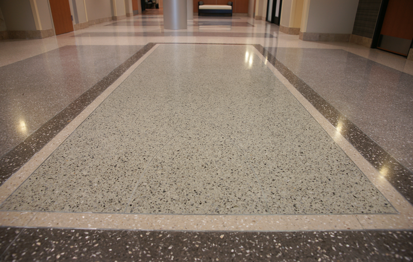South Bay Hospital Terrazzo Flooring in Florida