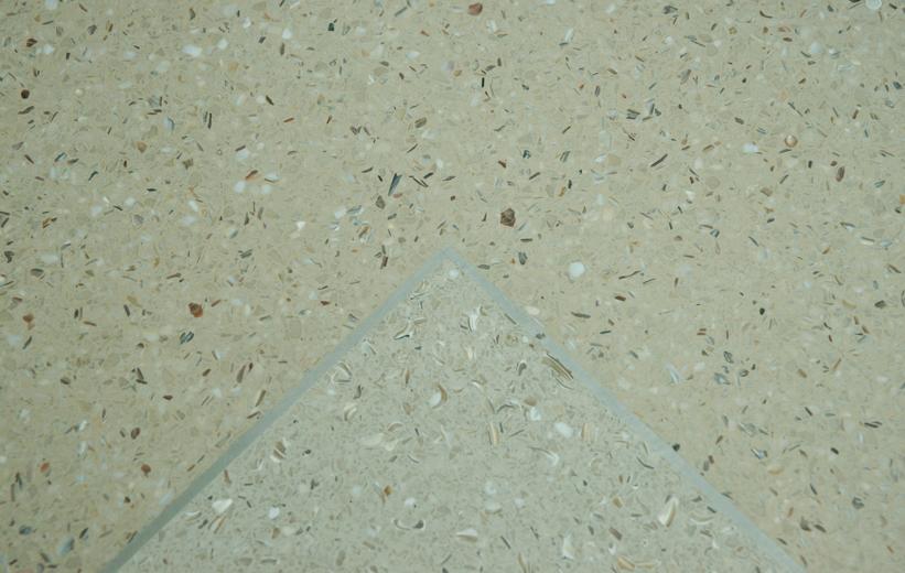 Mother of Pearl terrazzo floors