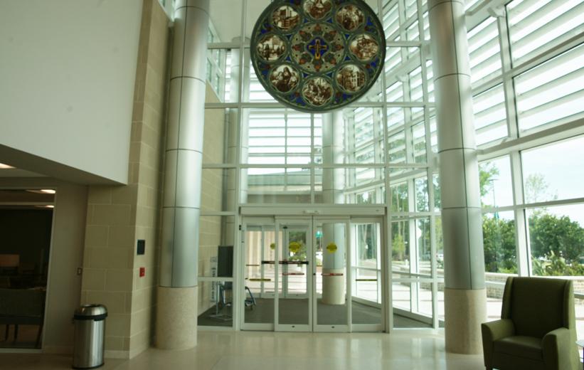 Entrance of St. Joseph's Hospital
