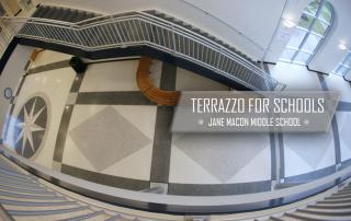 Terrazzo for Schools Case Study: Jane Macon Middle School