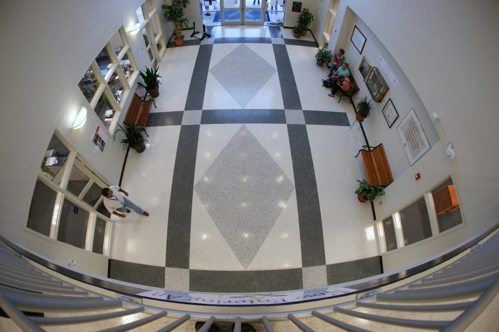 Jane Macon Middle School Terrazzo Flooring