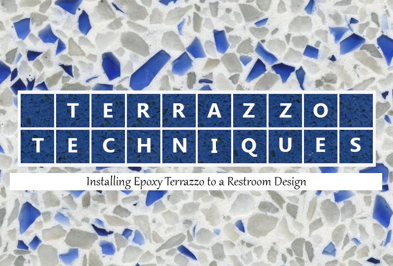 Terrazzo Techniques: Installing Epoxy Terrazzo to a Public Restrooms