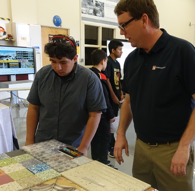 Company News: Showcasing terrazzo to high school students