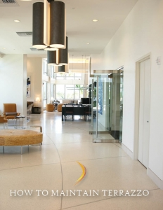Informational Guide: How to Maintain Terrazzo Floors