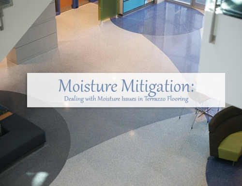 Moisture Mitigation: Dealing with Moisture Issues in Terrazzo Flooring