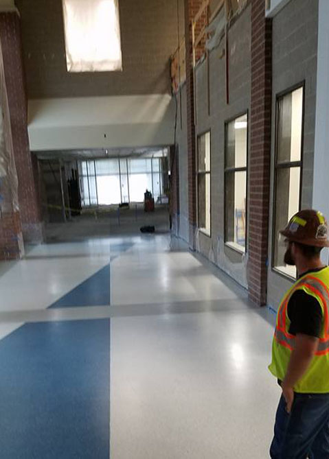 Terrazzo Flooring Process