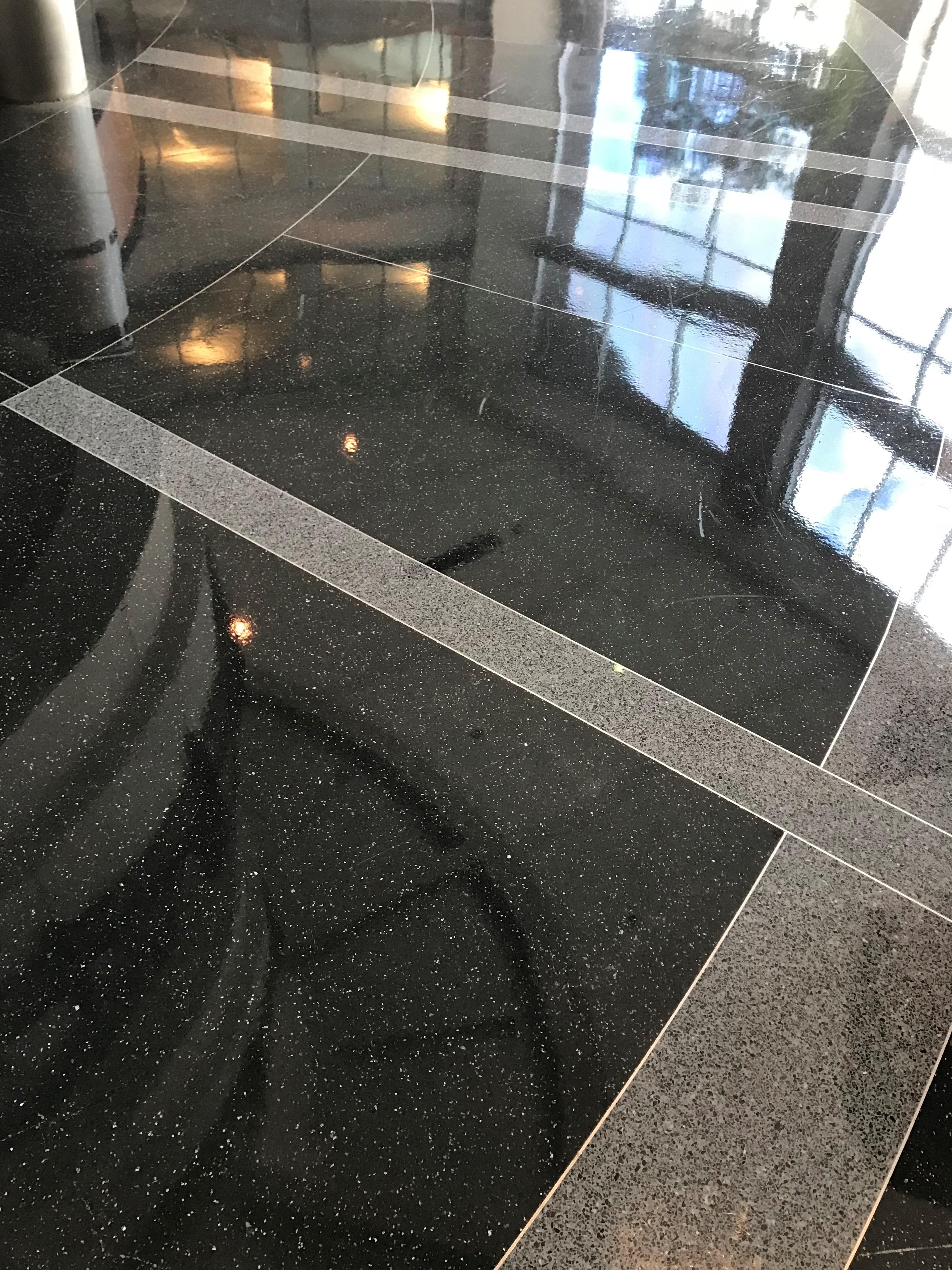 Office Lobby Terrazzo Flooring