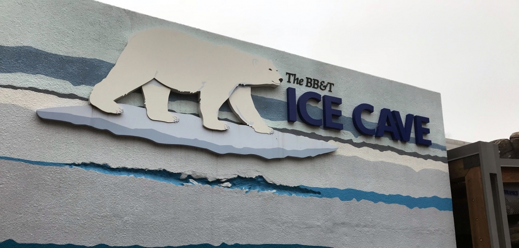 The BB&T Ice Cave - North Carolina Zoo