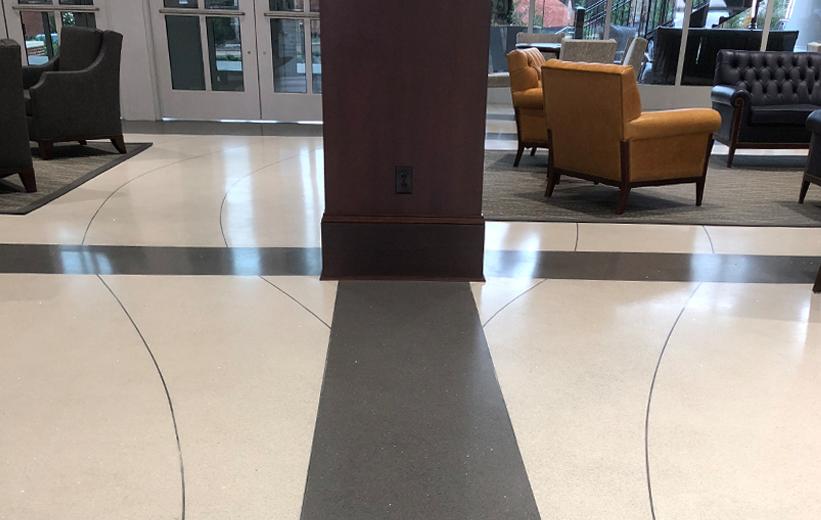 Terrazzo Flooring at High Point University