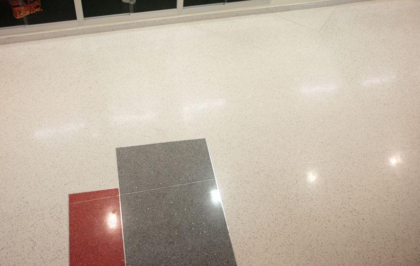 Epoxy terrazzo floor design at the Center for Advanced Studies at Wando