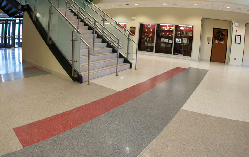 School Terrazzo Flooring