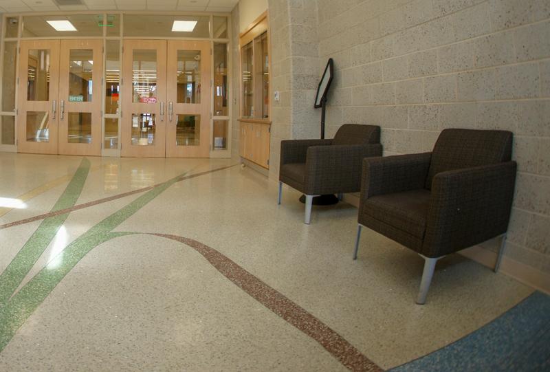 Jennie Moore Elementary School Terrazzo Project