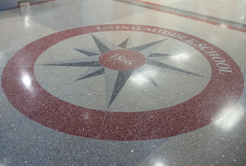 Laing Middle School Terrazzo Project