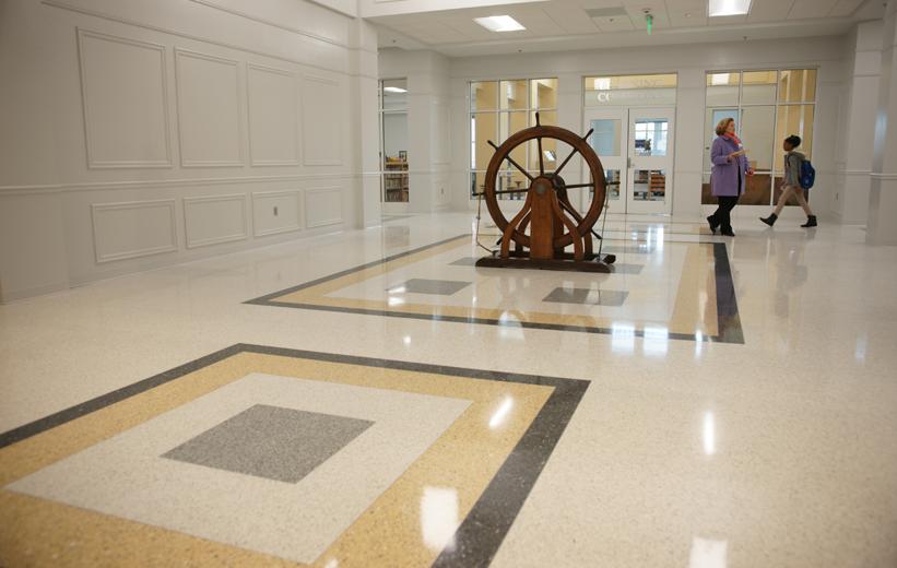 Spencer Elementary School Terrazzo Flooring Design