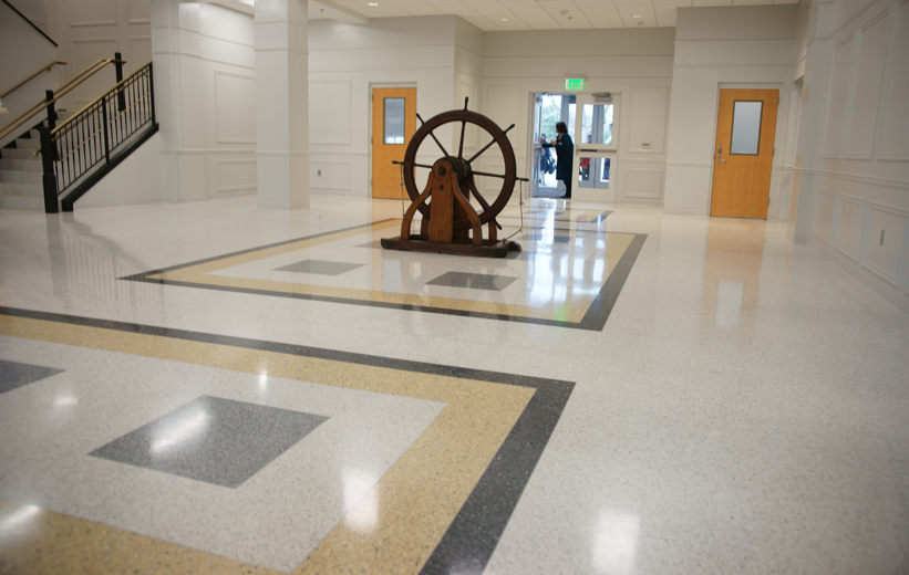 Spencer Elementary School Terrazzo Flooring Installation