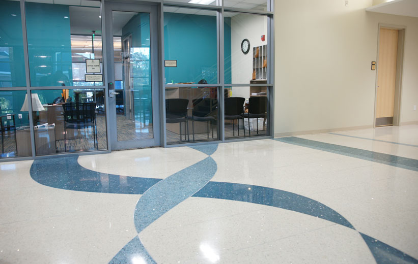 Coastal Carolina University Terrazzo Flooring Installation