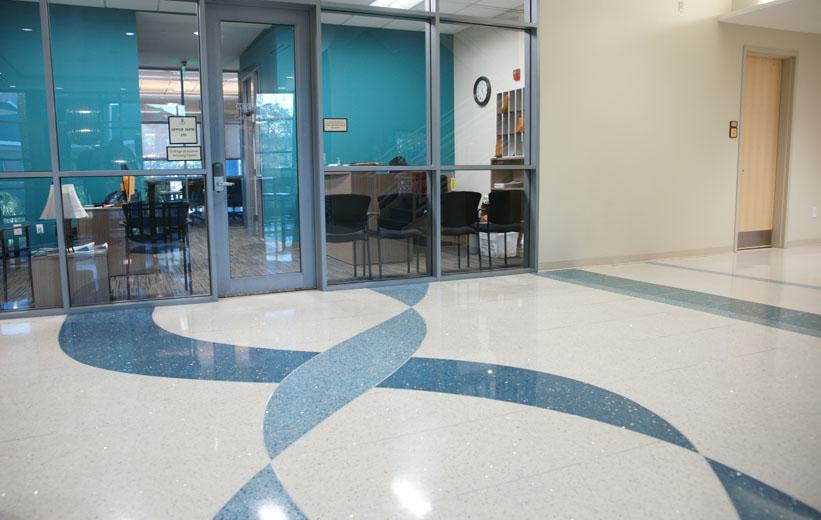 Coastal Carolina University Terrazzo Flooring Installation
