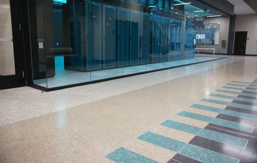 Terrazzo School Flooring Design
