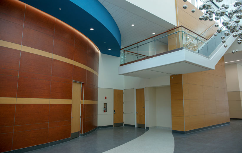 Coral Springs Lobby Area with Terrazzo Flooring