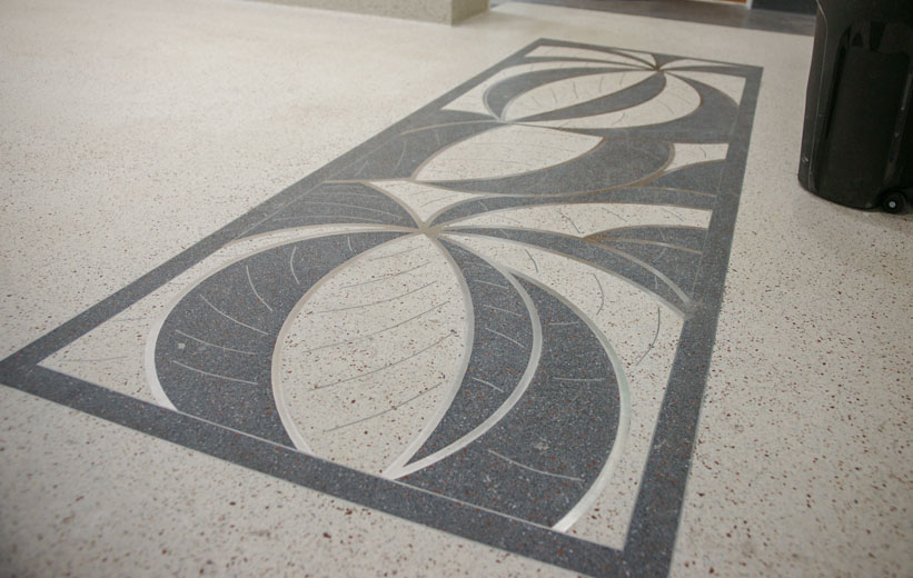 Coral Springs Municipal Complex Terrazzo Design