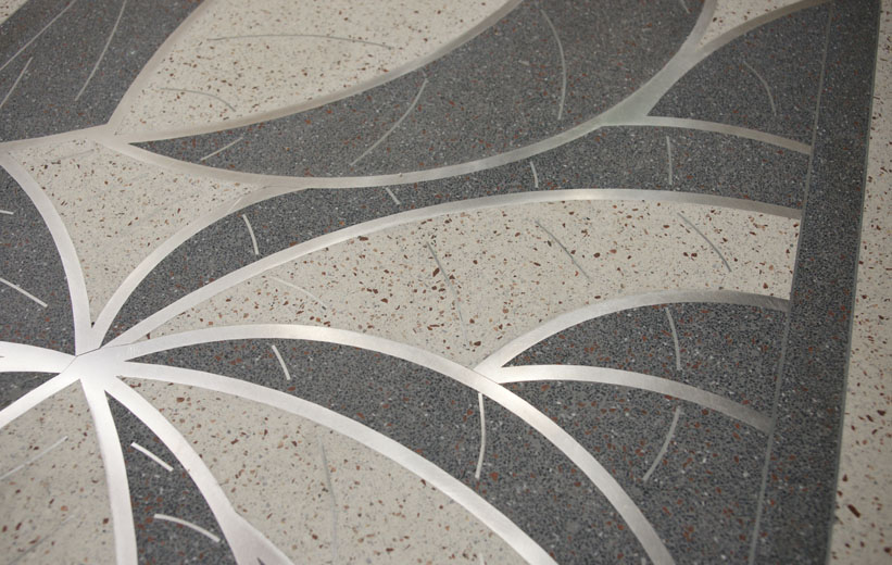 Terrazzo detailed design