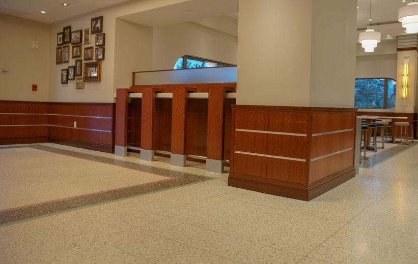 Terrazzo Flooring Lobby Area