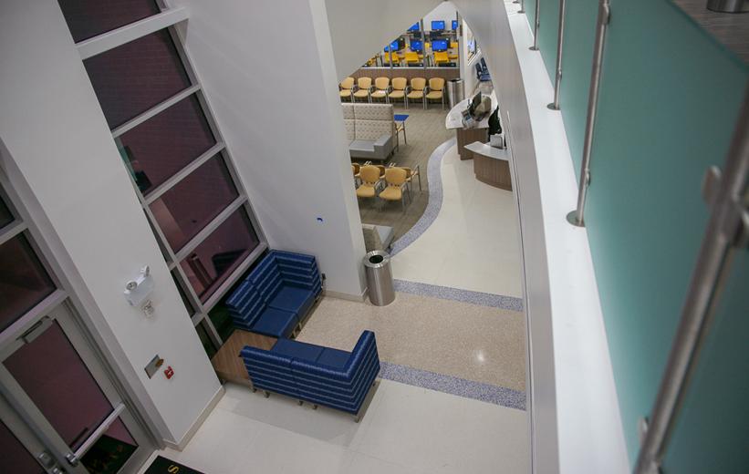 Seminole State College Epoxy Terrazzo