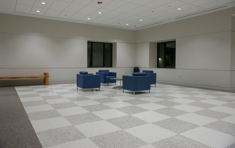 Checkerboard Terrazzo Design