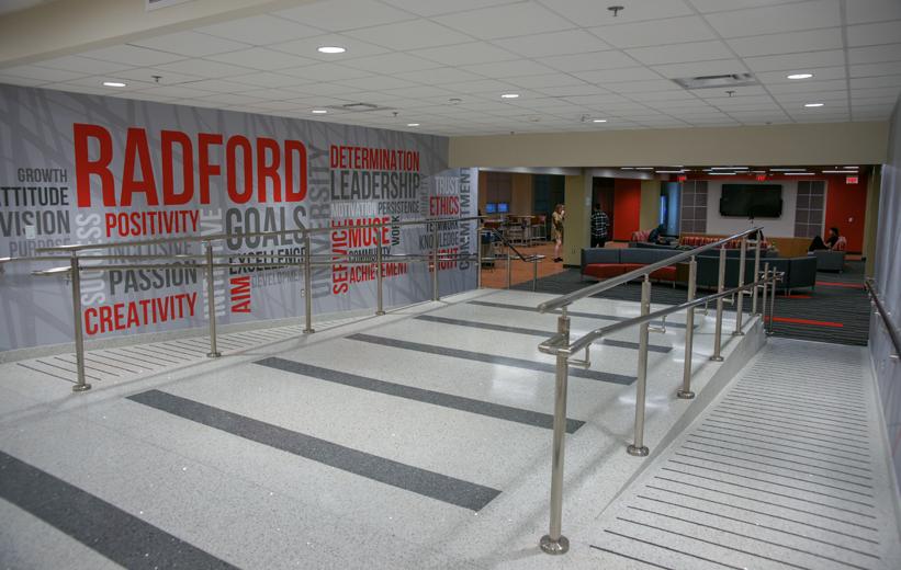 Radford University Terrazzo Installation