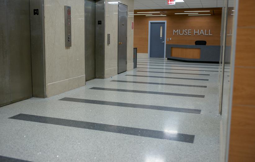 Radford University Terrazzo Floor