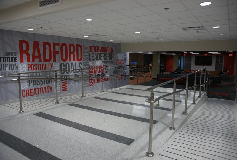 Radford University Terrazzo Project