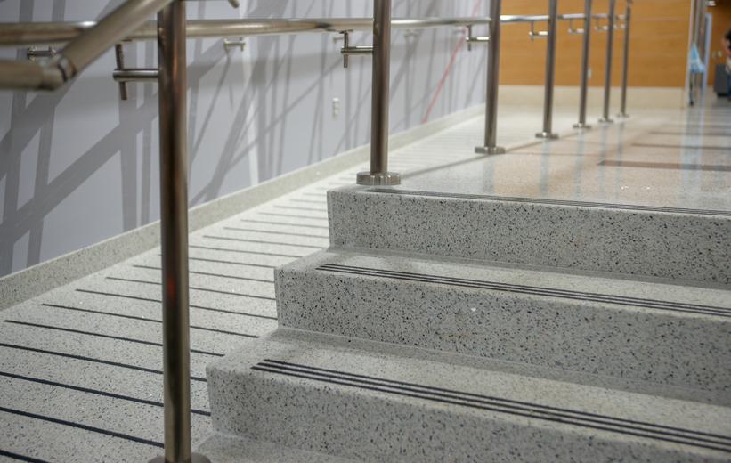 Radford University - Terrazzo Stairs