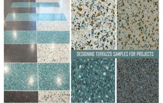 Designing Terrazzo Sample for Projects