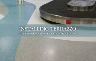 Installing Terrazzo