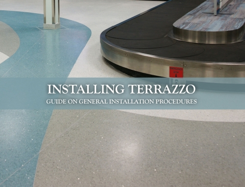 Installing Terrazzo – General Installation Procedures