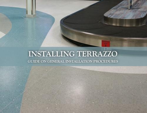 Installing Terrazzo – General Installation Procedures
