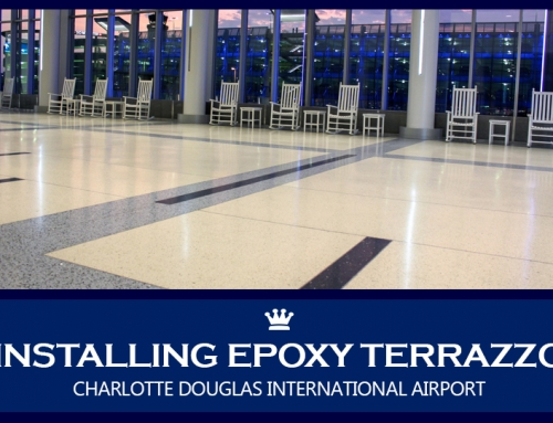 Case Study: Installing Epoxy Terrazzo at Charlotte Douglas International Airport