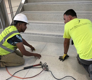 Terrazzo Installation News
