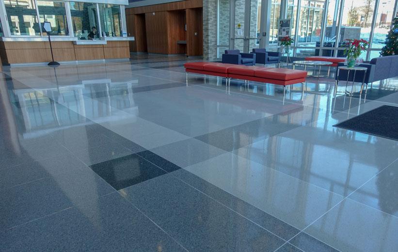 Durham Police Headquarters - Terrazzo Flooring