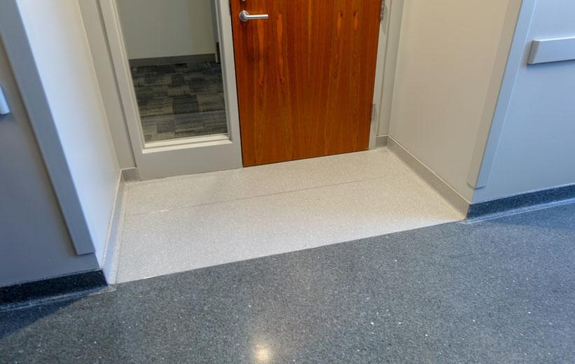 Durham Police Headquarters Terrazzo Flooring
