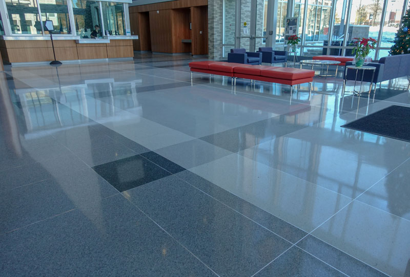 Durhame Police Headquarters - Terrazzo Project