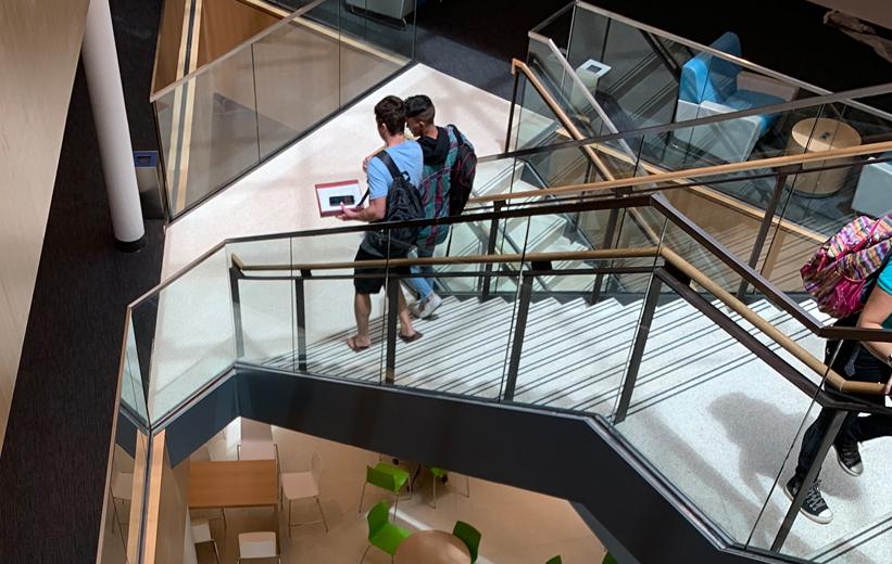 Daytona State Terrazzo Stairs