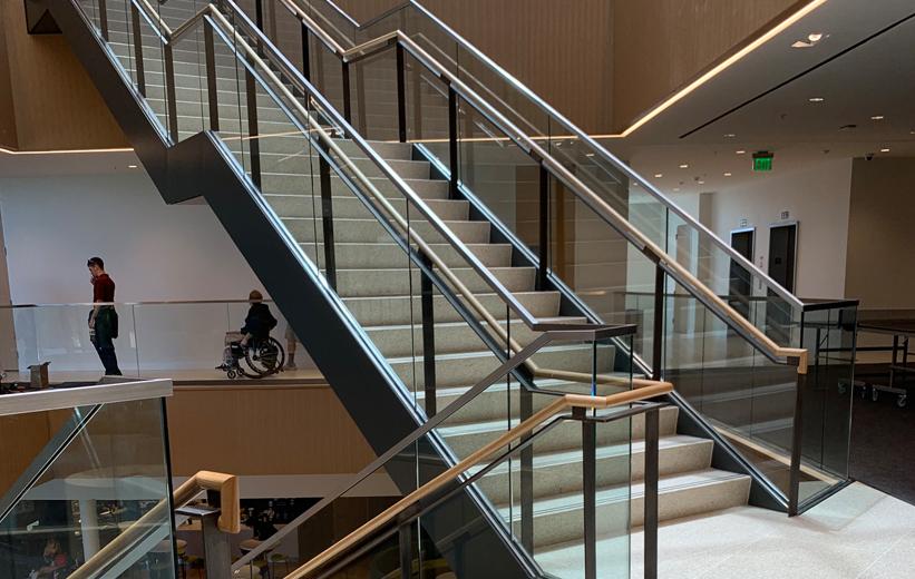 Daytona State College Terrazzo Stairs