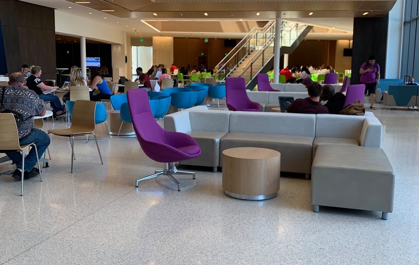Daytona State College Terrazzo Floors