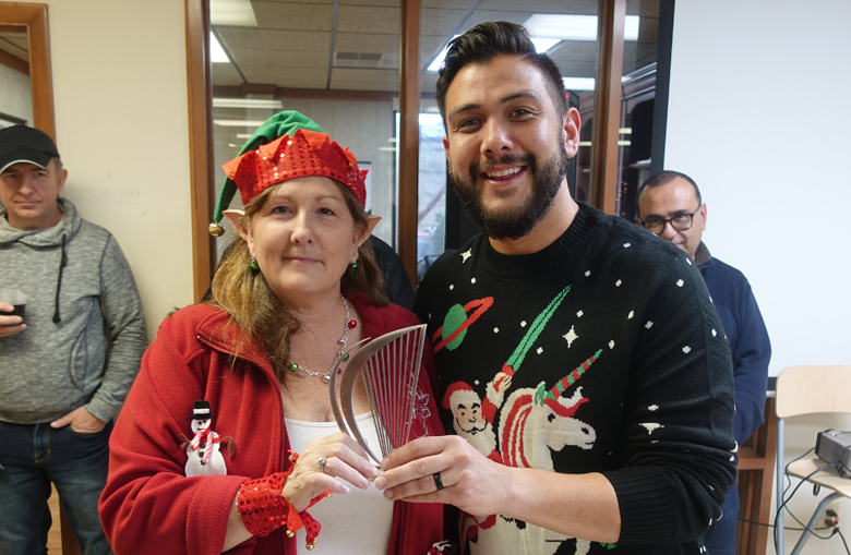 Holiday Office Decorating Winners
