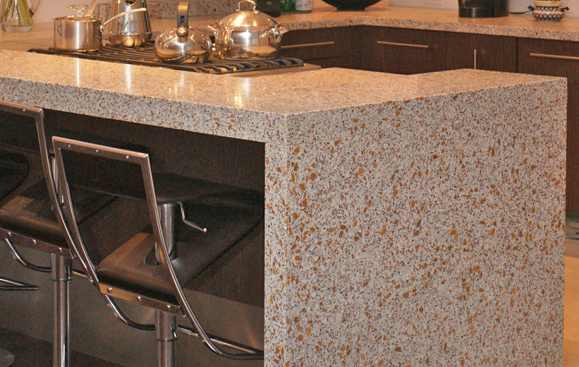 Terrazzo Countertop Installation - Virginia